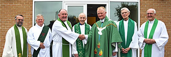 Fr Aidan's farewell to Newent and Blaisdon