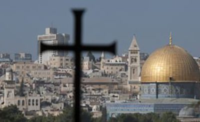 Bishop Declan leads visit the Holy Land in support of local Christians