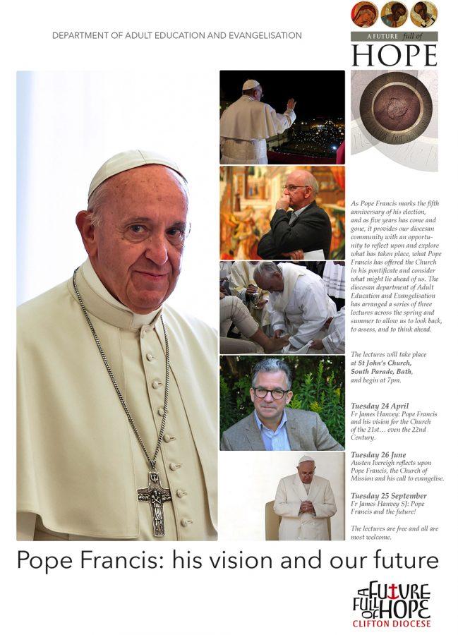 Fr James Hanvey SJ: Pope Francis and the future! @ St John's Church, South Parade, Bath | England | United Kingdom