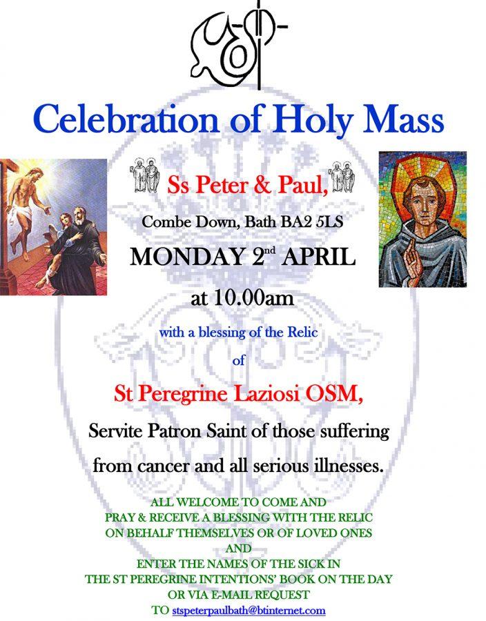 Celebration of Holy Mass @ Ss Peter & Paul, Combe Down, Bath BA2 5LS | England | United Kingdom