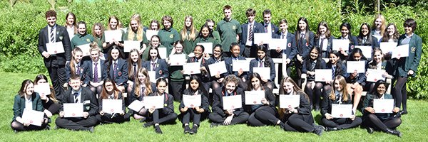 Young Volunteers receive awards