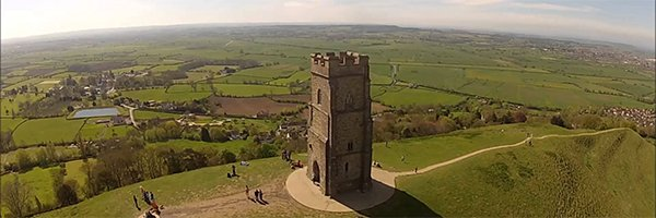 St Edward's School climb the Glastonbury Tor to 'Share the Journey'