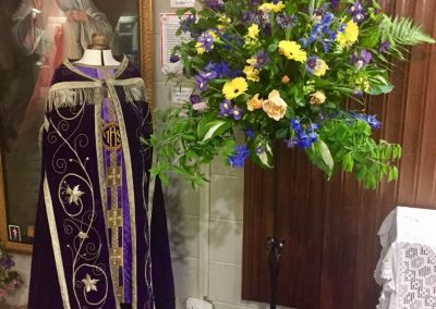 Celebrating the vestments used in Church