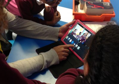 Holy Family Primary School - Create film editing