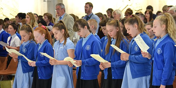 Primary Schools Mass – Pictures, report and Homilies