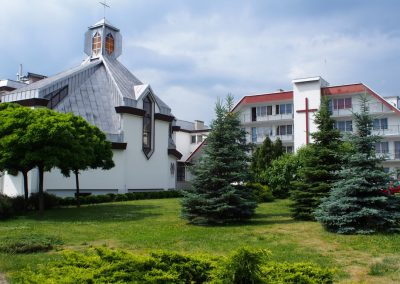 the Good Shepherd Retreat Centre in Nysa