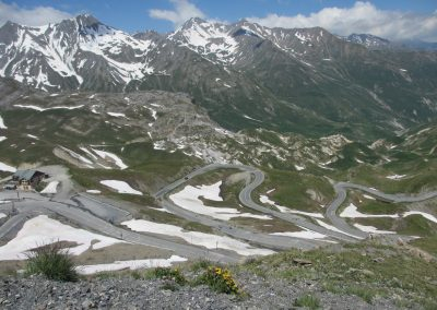 Switchbacks on the Galibier