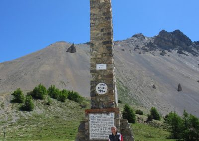 Top of the Col d'Izoard