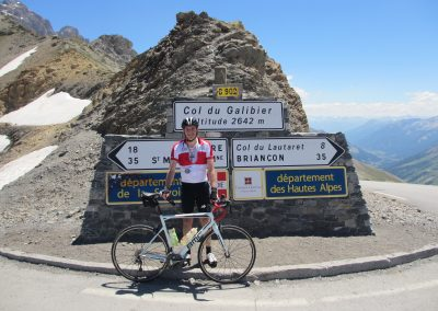 2. Top of the Col du Galibier