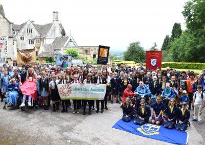 Schools pilgrimage June 2018 - Prinknash - (19)