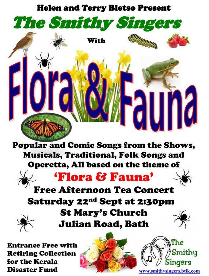 'FLORA & FAUNA' Concert @ St Mary's Church Julian Road, Bath | England | United Kingdom