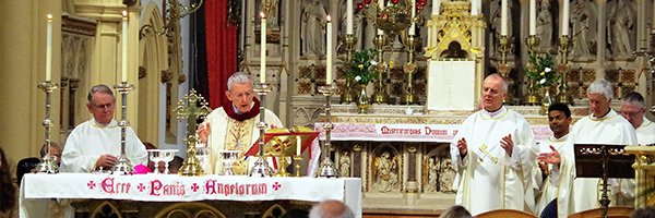 Thanksgiving Mass at St Gregory's