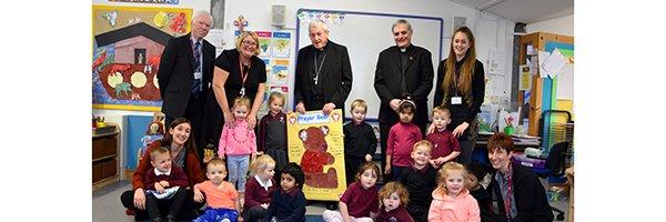 Bishop blesses new Bush Babies Nursery