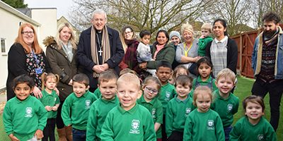 Bishop Declan meets School Chaplains at St Mary's