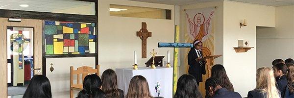 Lampedusa Cross arrives in Bristol