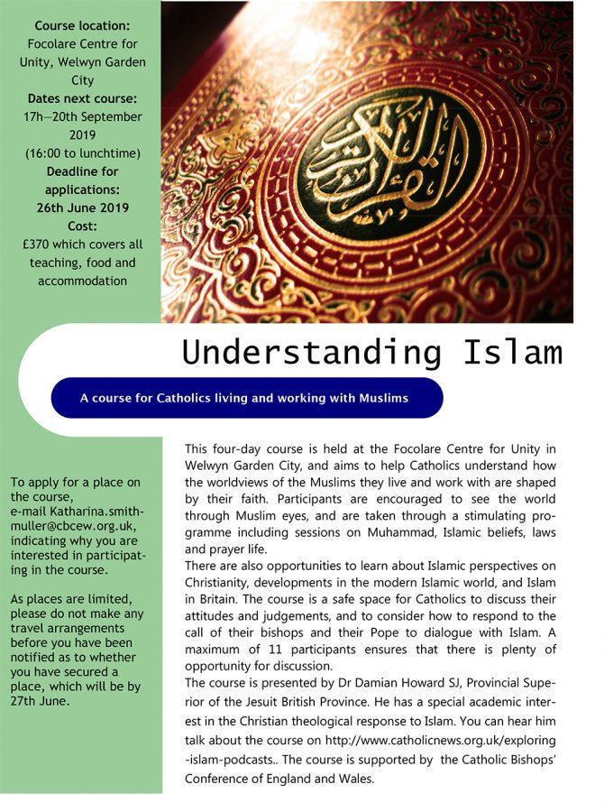 Understanding Islam @ Focolare Centre for Unity, Welwyn Garden City
