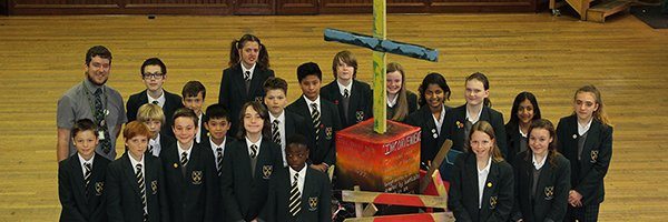 Journey of the cross: Replica reaches St Gregory's