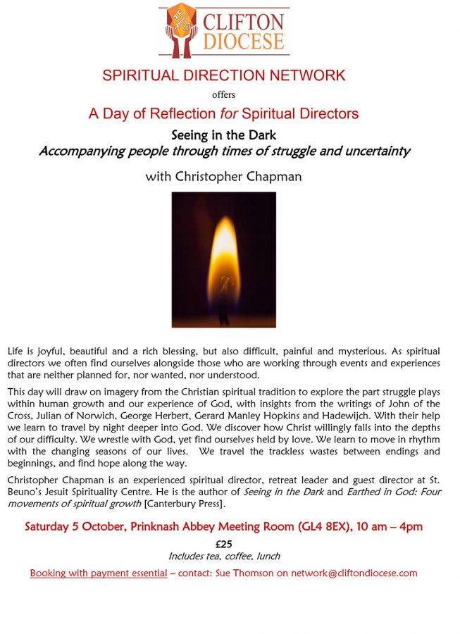 A Day of Reflection for Spiritual Directors @ Prinknash Abbey Meeting Room | Cranham | England | United Kingdom