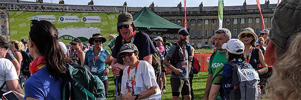 Cotswold Way Challenge success