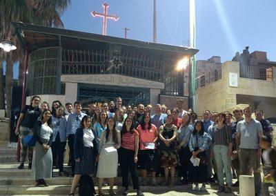 Downside Holy Land pilgrimage - (1)