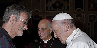 Clifton Parishioner at the Vatican!