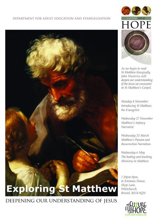 Exploring St Matthew @ Emmaus House | England | United Kingdom