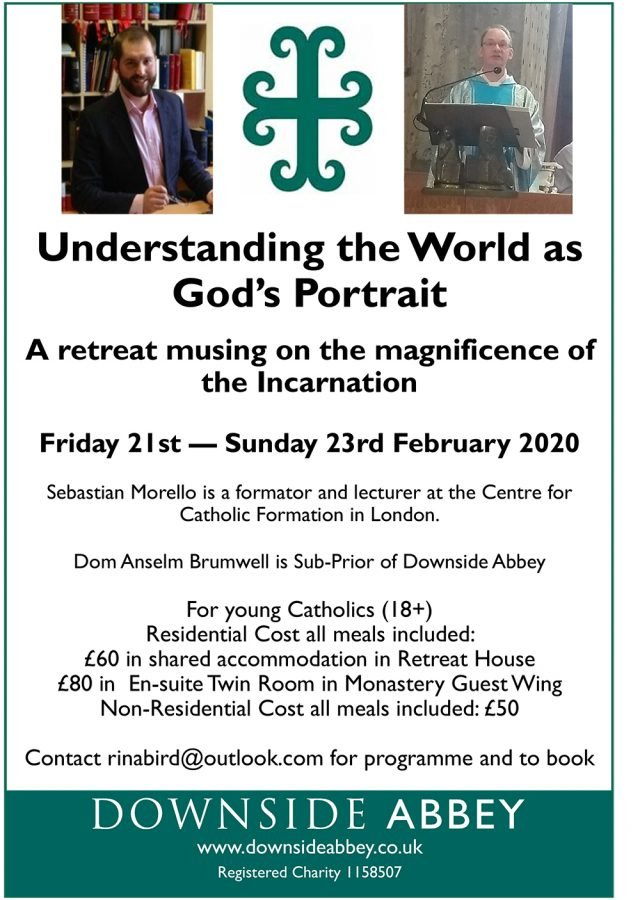 Understanding the World as God's Portrait @ Downside Abbey | Stratton-on-the-Fosse | England | United Kingdom