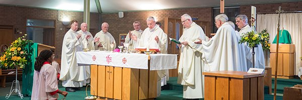 Golden Jubilee and the Consecration of Holy Family Swindon