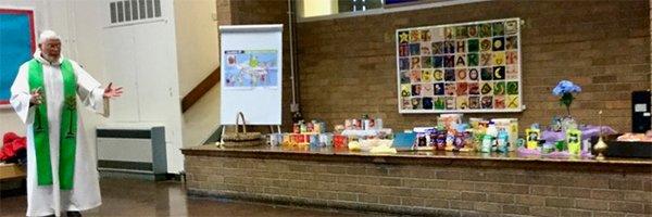 Celebrating the Harvest at St Pius X Primary School