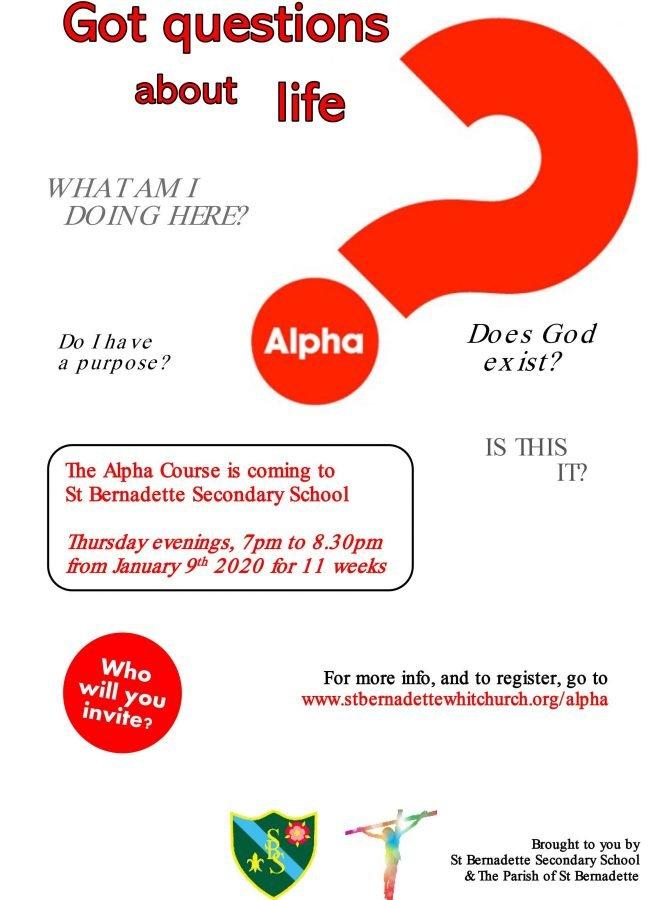Alpha Course @ St Bernadette's Church | England | United Kingdom