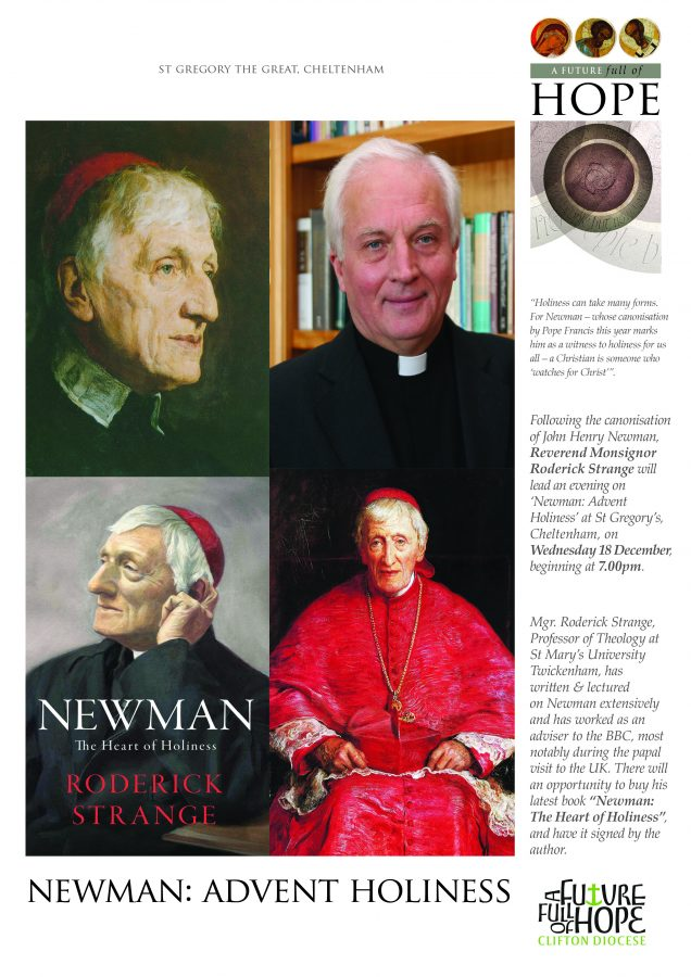 Newman: Advent Holiness @ St Gregory's, Cheltenham