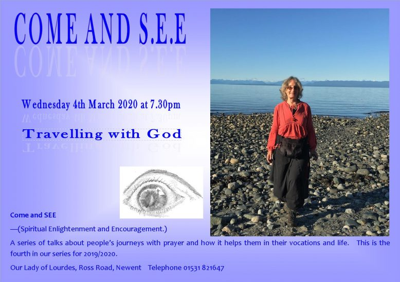 Come and see - Jeanette Trevail @ Our Lady of Lourdes, Ross Road, Newent