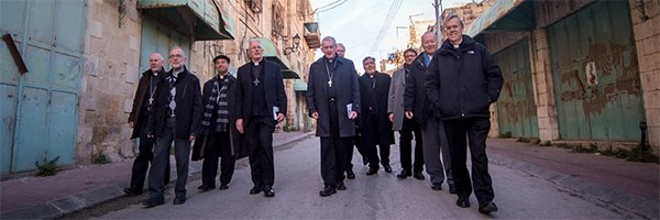 Bishop Declan Lang's statement on the situation of people in the Holy Land affected by Coronavirus pandemic
