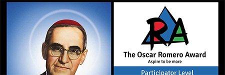 St Brendan's are proud recipients of the Oscar Romero Participator Level Award