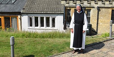 Sister Elizabeth Mary says farewell to Brownshill