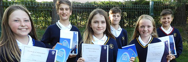 2020 Leavers from St Francis' Primary School achieve their 'Faith in Action' awards