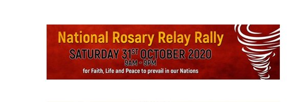 The Rosary Whirlwind Mission culminates on Saturday October 31st