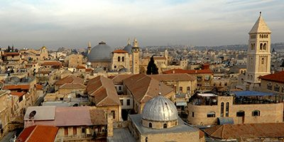 Bishop Declan talks about the Holy Land – Podcast