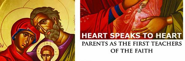 Parents as the first teachers of the faith