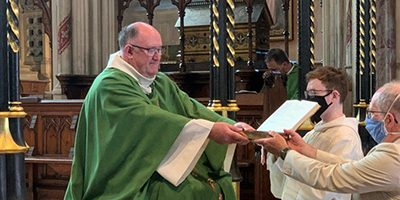 Ministries Mass at St John's Bath